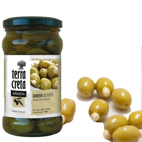 Produkty—Olivy—Zelené-s-mandlou-s